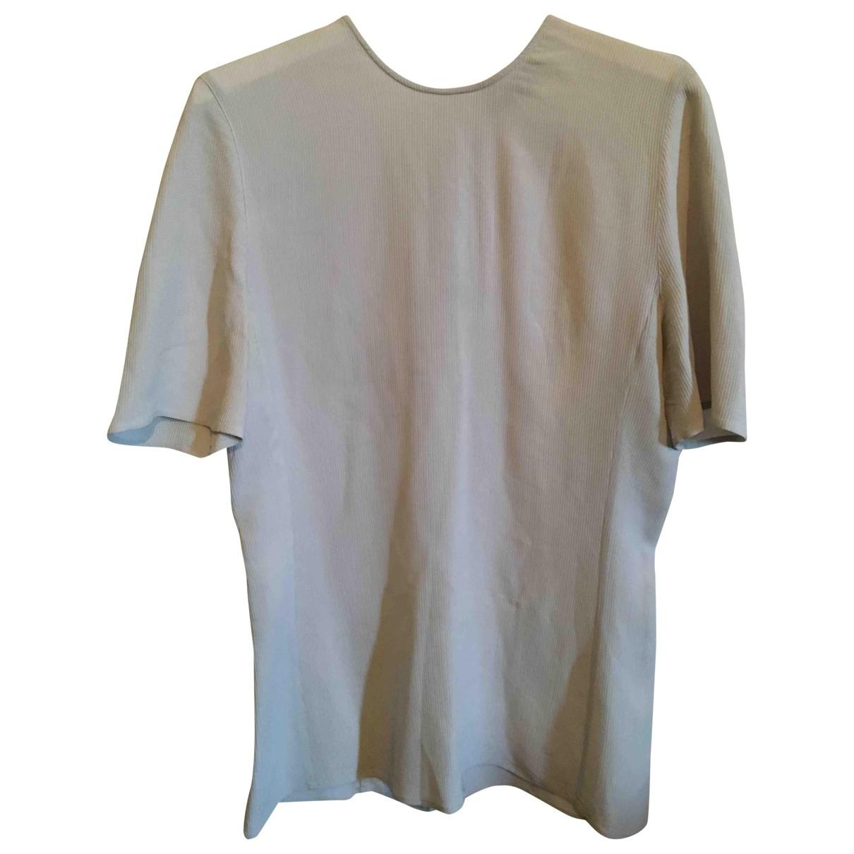 Giorgio Armani - Top   pour femme en soie - gris