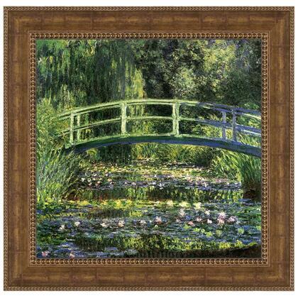 DA4162 28X27.5 Water Lilies & Japanese