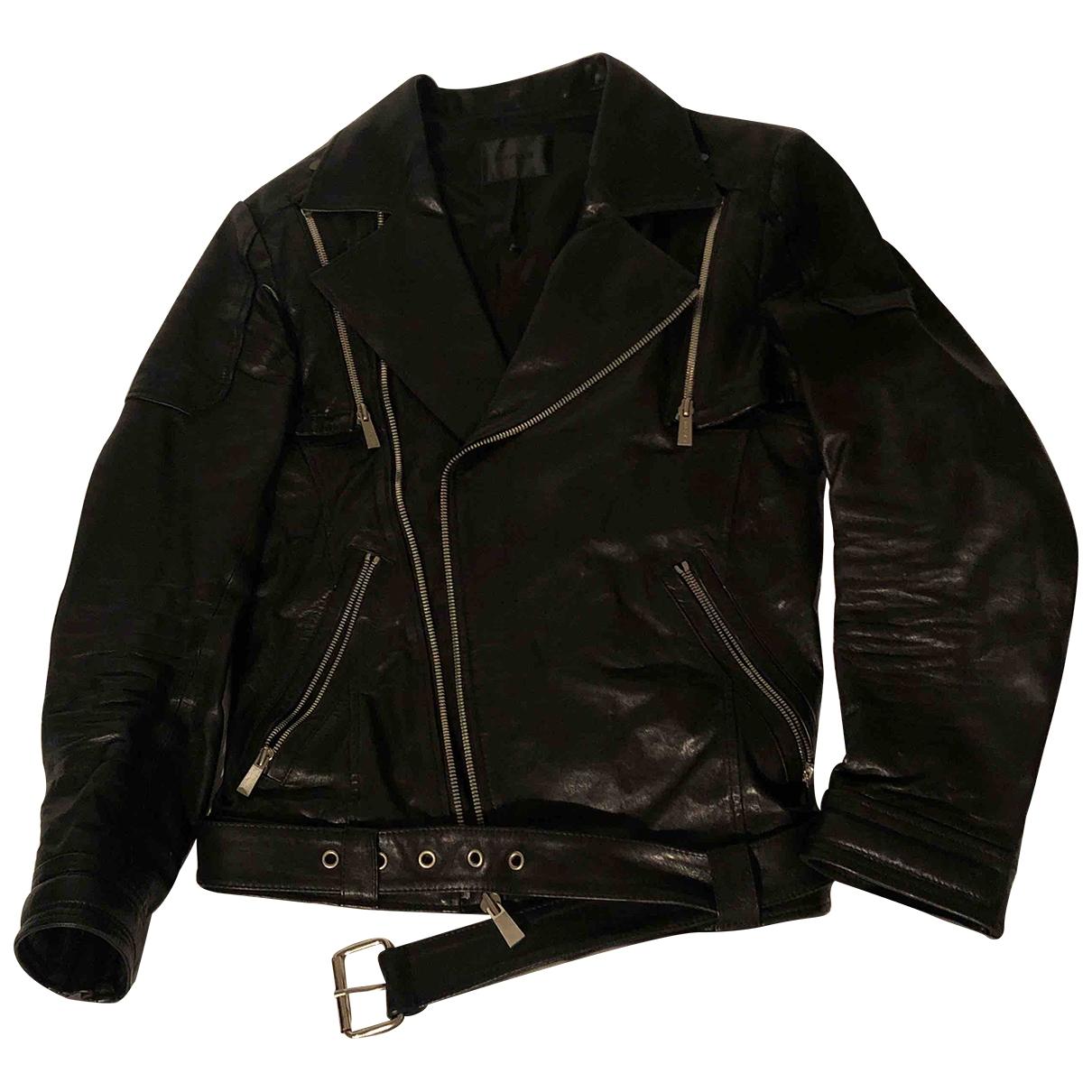 D.gnak By Kang.d \N Black Leather jacket  for Men 48 FR