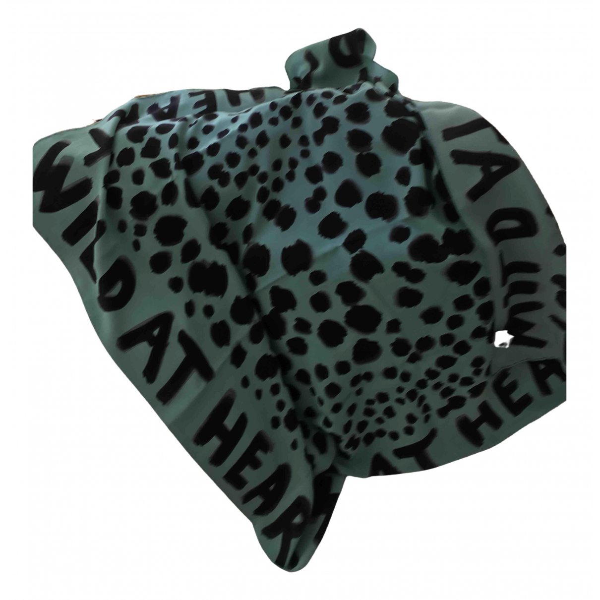 Moschino Cheap And Chic N Turquoise Silk scarf for Women N