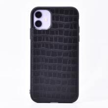 1 pieza funda de iphone con diseño de cocodrilo