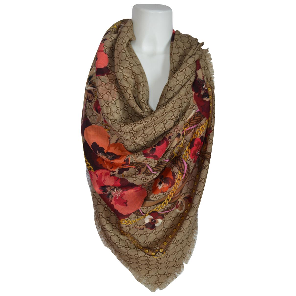 Gucci \N Red Wool scarf for Women \N