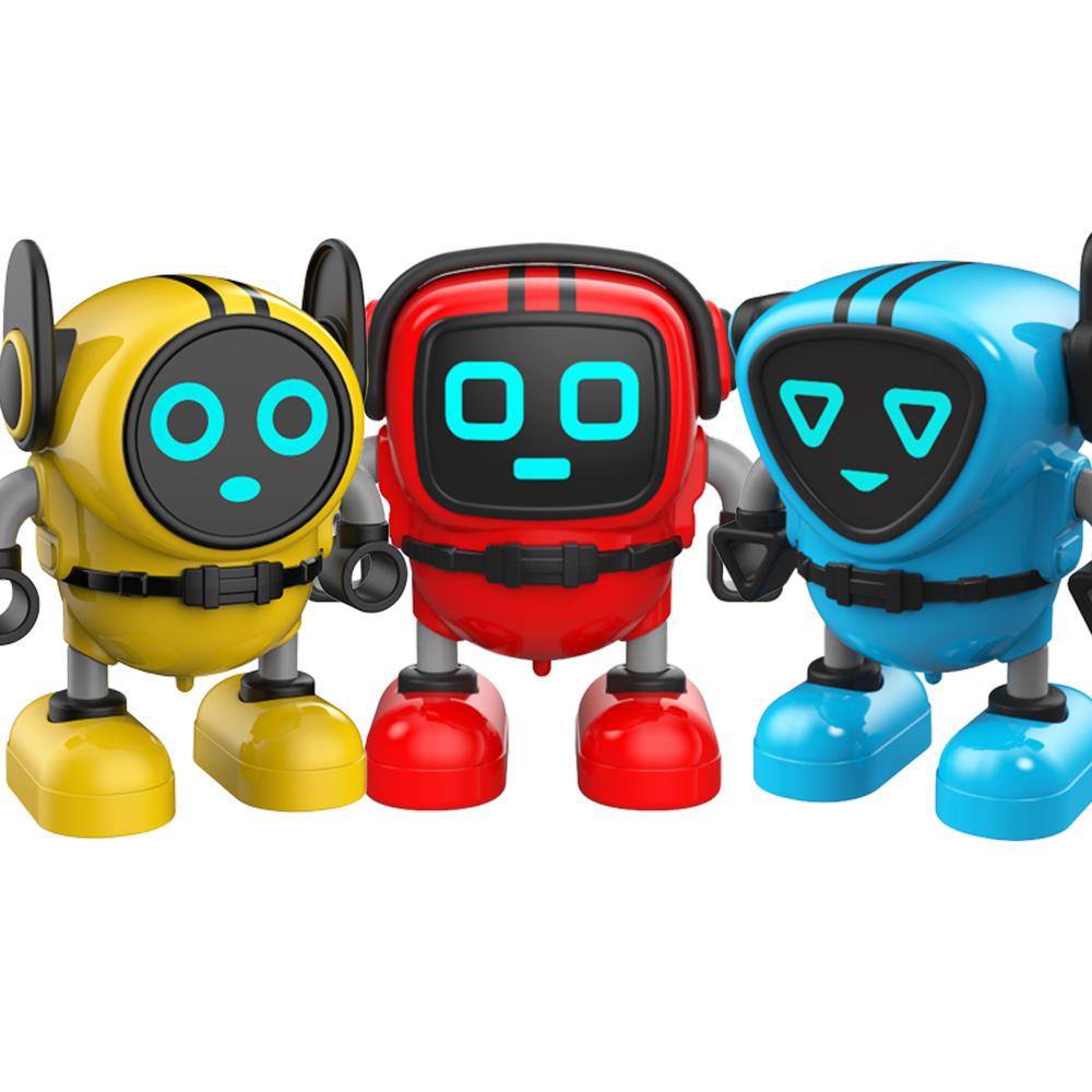 JJRC R7 Detachable Removable Gyroscopes Top Gyro 3-Modes Wind-up Car Launching Mode RC Robot Toy