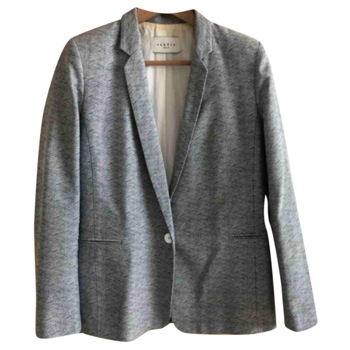 Sandro N Beige Cotton jacket for Women M International