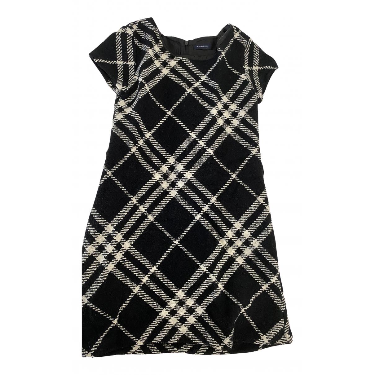 Burberry - Robe    pour enfant en laine - noir