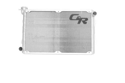 Mustang Radiator 64-66 5.0 Coyote 2 Row Single Pass Open