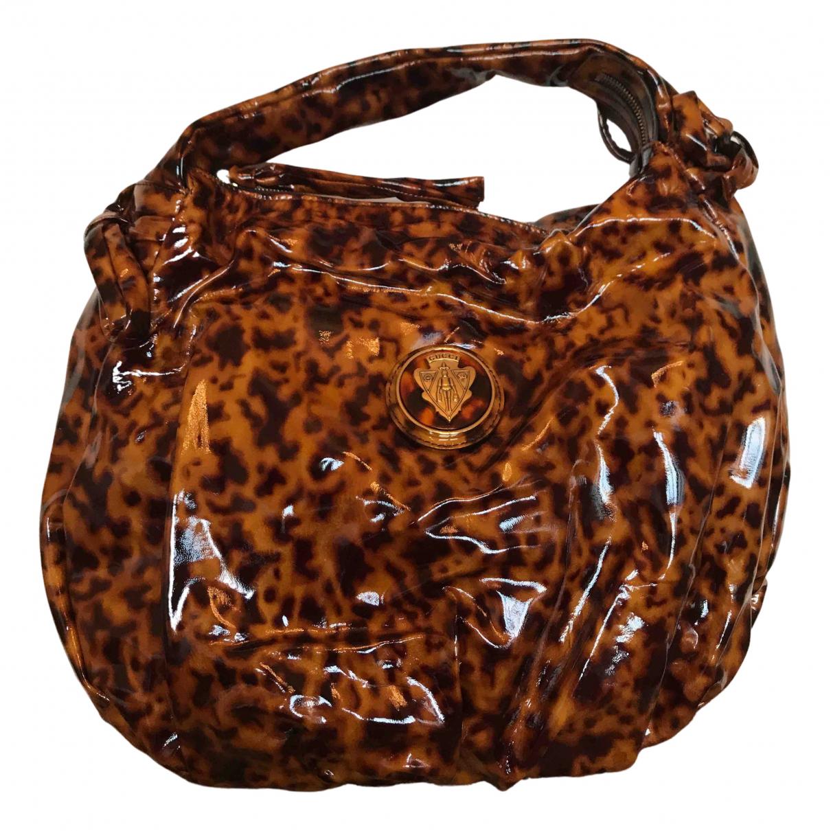 Bolso  Hobo de Charol Gucci
