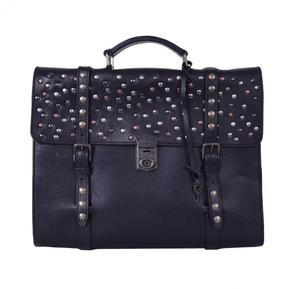 Dolce & Gabbana \N Black Leather bag for Men \N