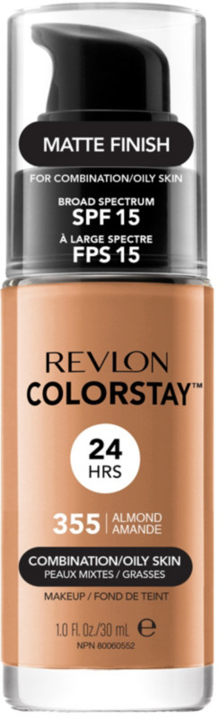 ColorStay Makeup For Combo/Oily Skin - 355 Almond