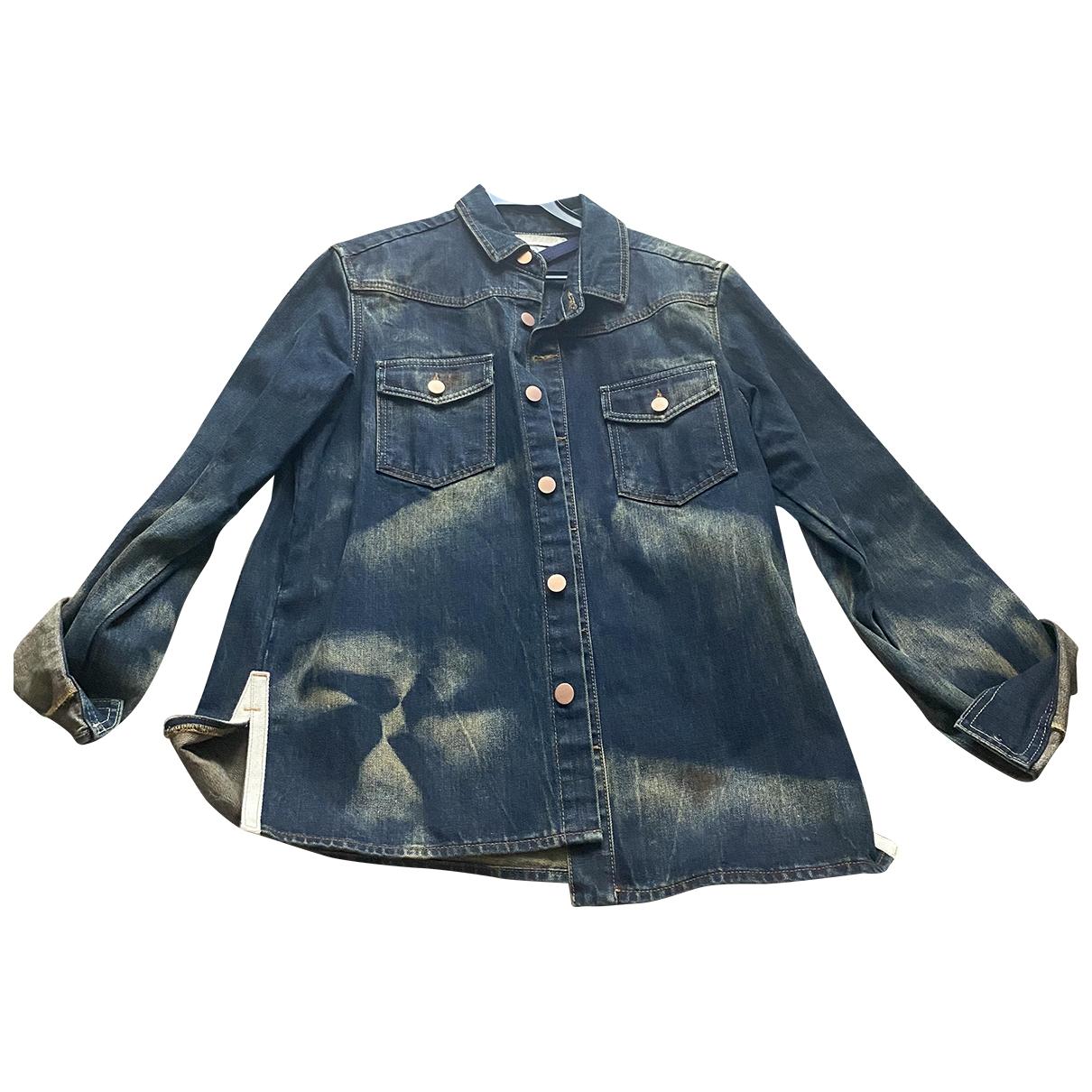 Off-white \N Jacke in  Blau Denim - Jeans