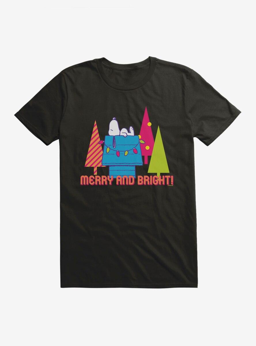 Peanuts Retro Pop Merry And Bright T-Shirt