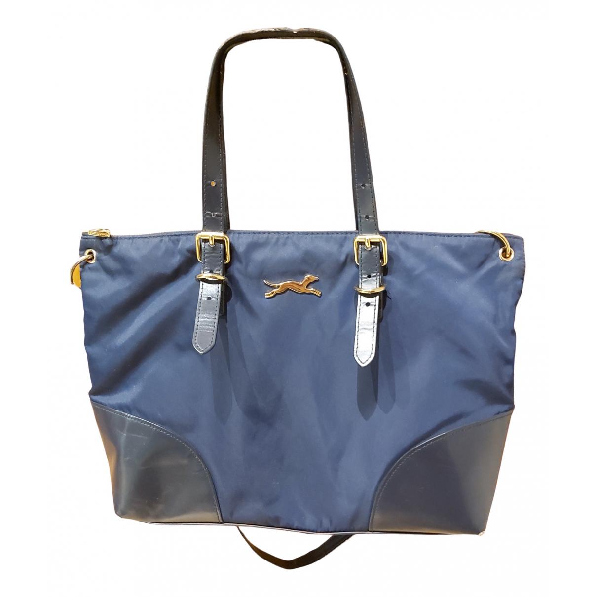Bimba Y Lola \N Handtasche in  Marine Leinen
