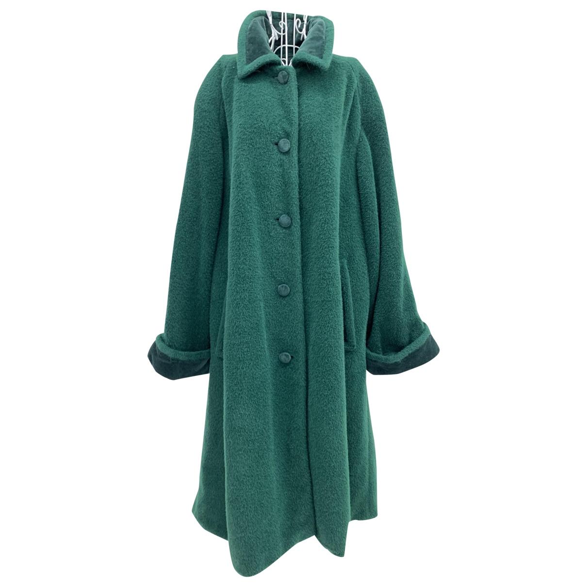 Valentino Garavani - Trench   pour femme en laine - vert