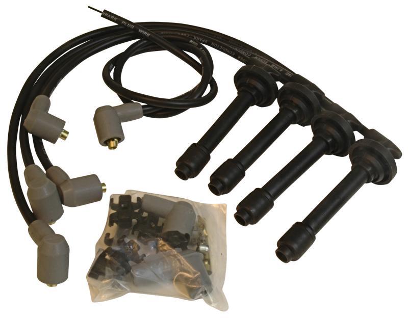 MSD Wire Set; Black Super Conductor; Acura/Integra; 1.8L Vtec N/A