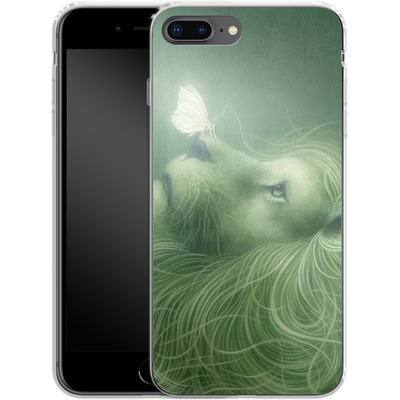 Apple iPhone 8 Plus Silikon Handyhuelle - In the Calm of the Pale Moonlight von Dan May