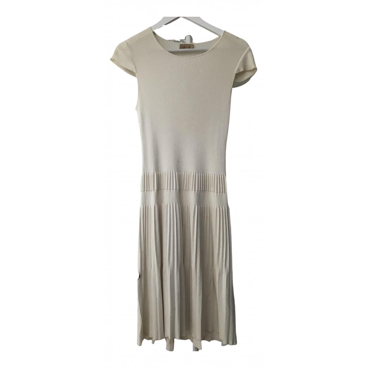 Falconeri \N Kleid in  Ecru Baumwolle