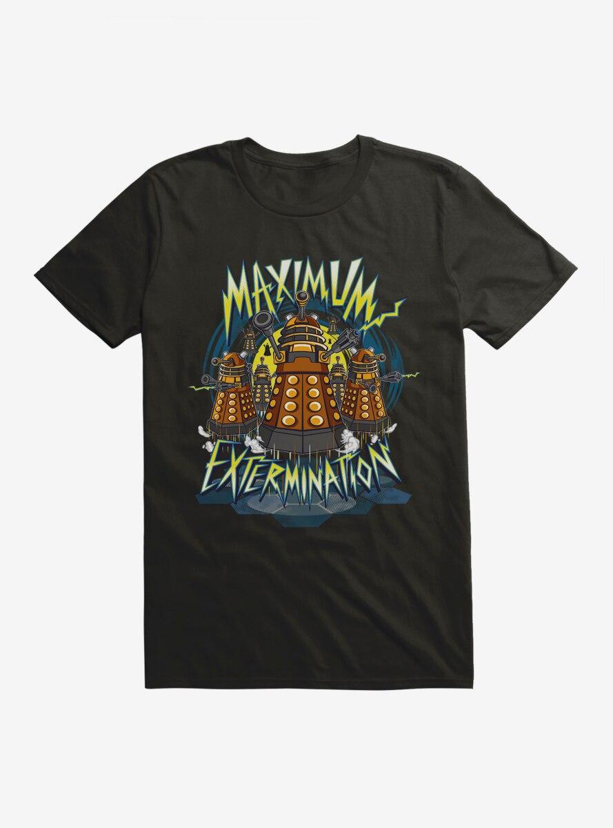 Doctor Who Maximum Extermination T-Shirt