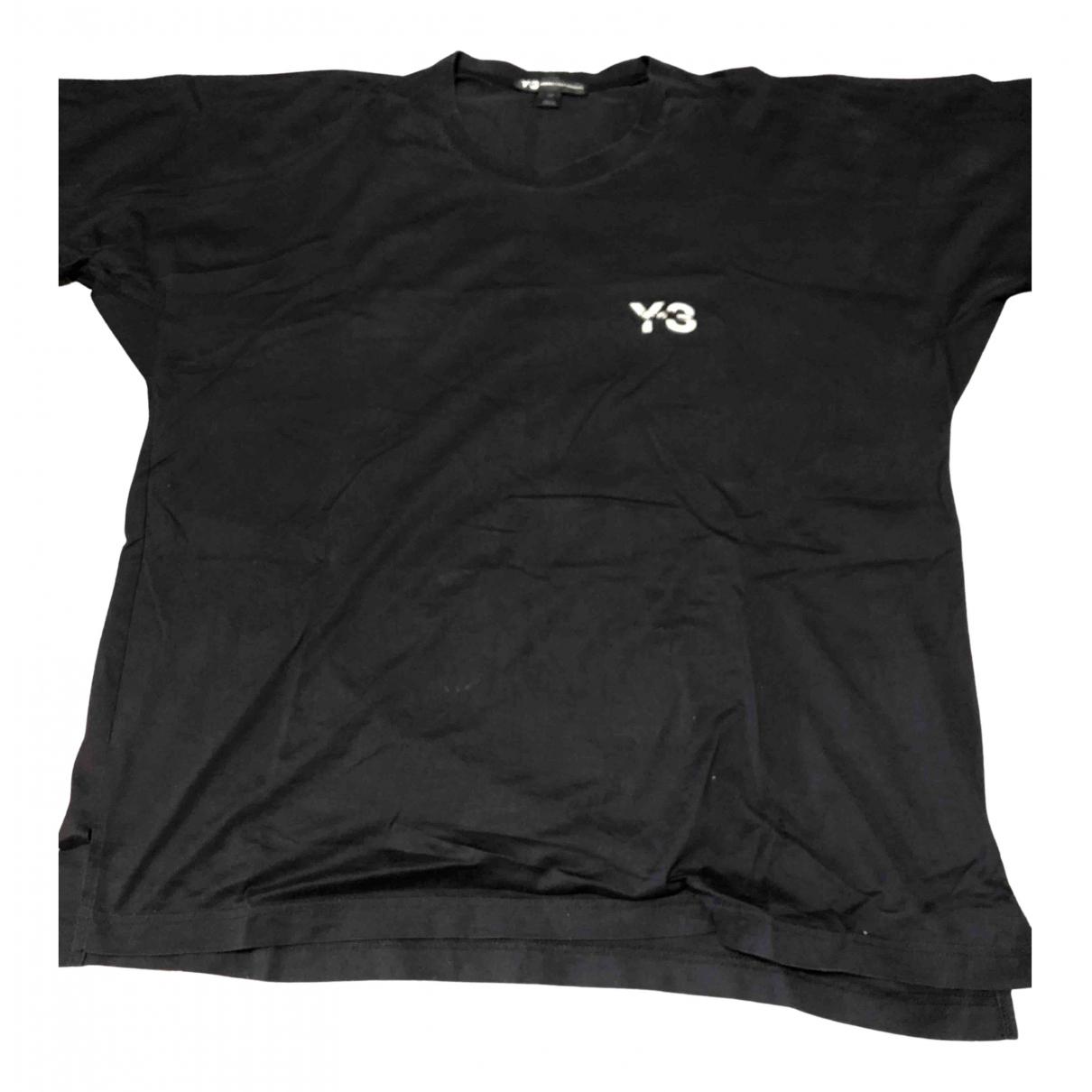 Y-3 - Tee shirts   pour homme en coton - noir
