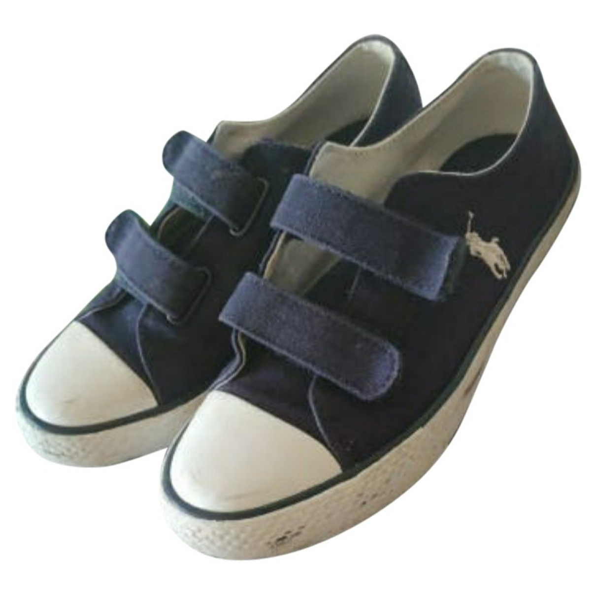 Polo Ralph Lauren \N Blue Cloth Trainers for Kids 32 EU