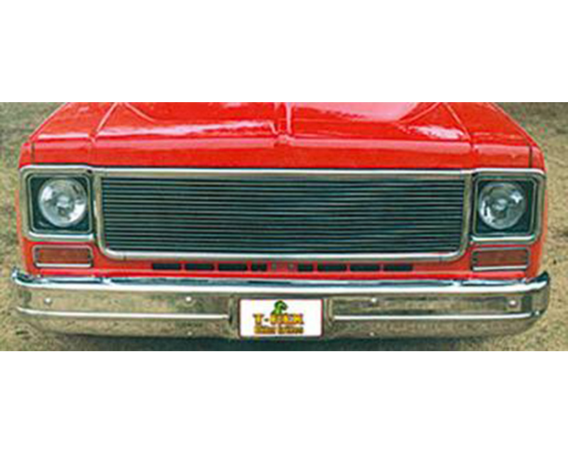 Billet Grille, Polished, 1 Pc, Replacement - PN #20005