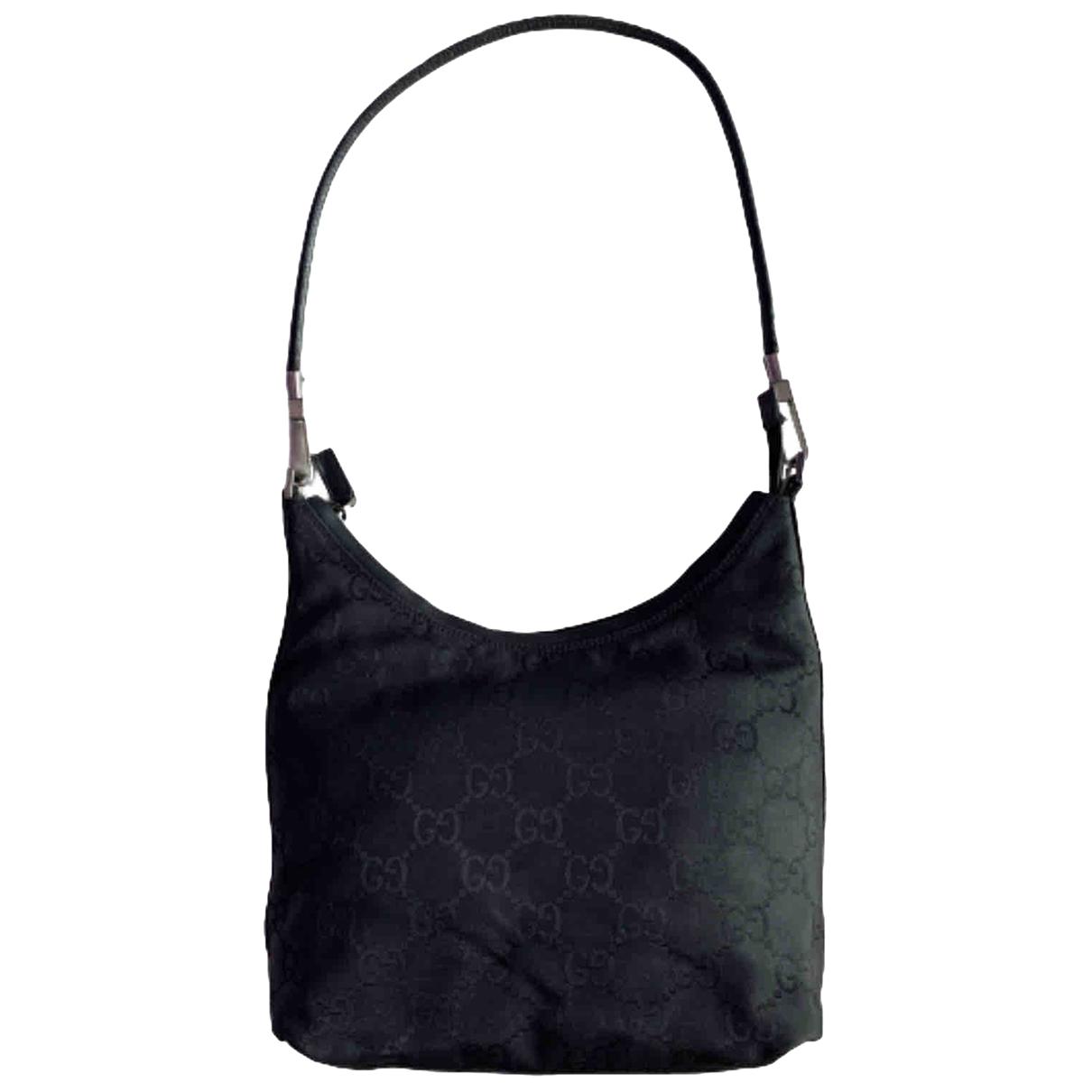 Gucci - Sac a main Hobo pour femme en toile - noir