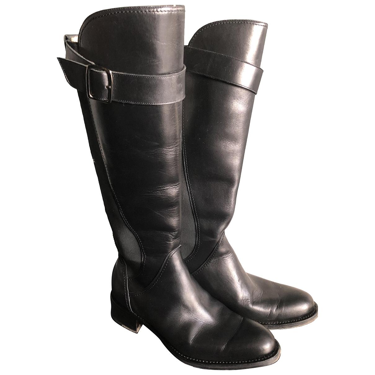 Paraboot - Bottes   pour femme en cuir - noir