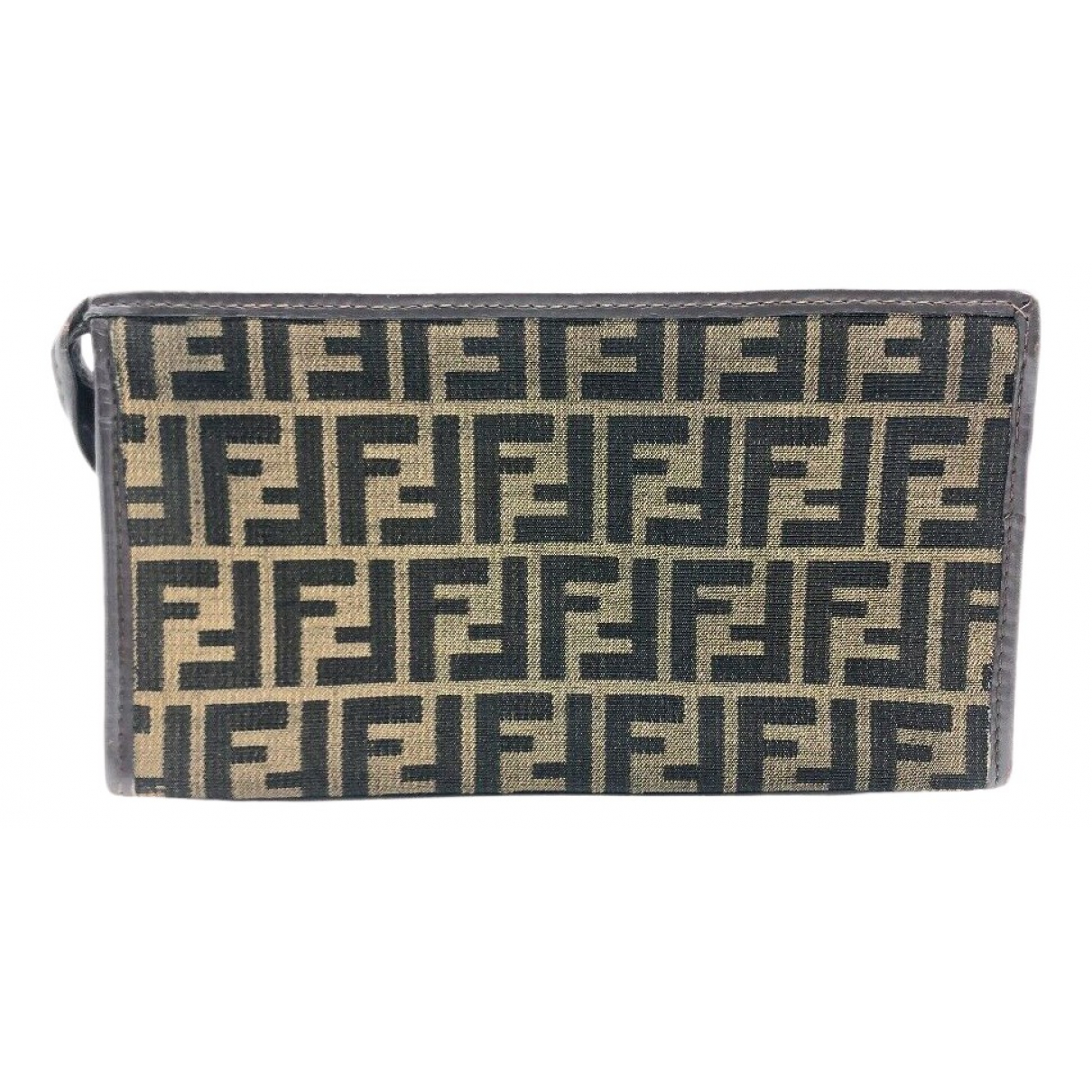 Fendi \N Clutch in Leder