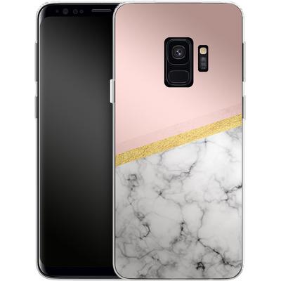 Samsung Galaxy S9 Silikon Handyhuelle - Marble Slice von caseable Designs