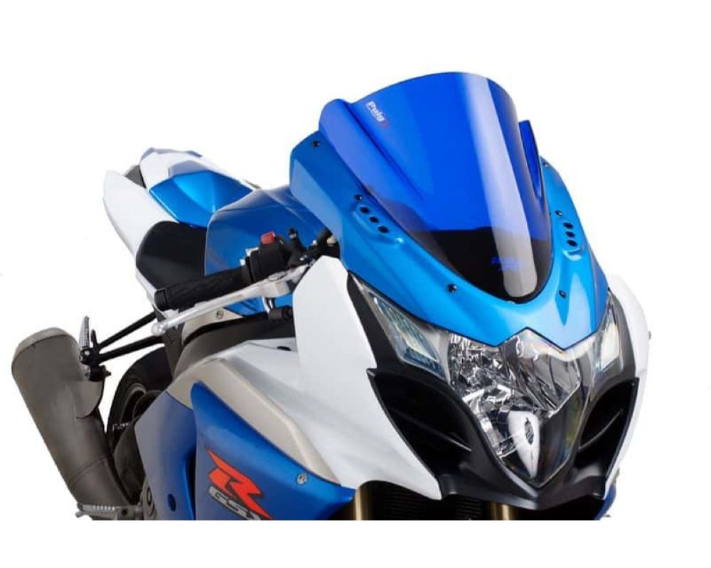 Puig 4933A Z-Racing Windscreen - Blue Suzuki GSX-R1000 2009