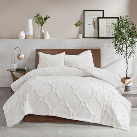 Madison Park Nollie 3-pc. Comforter Set, One Size , White