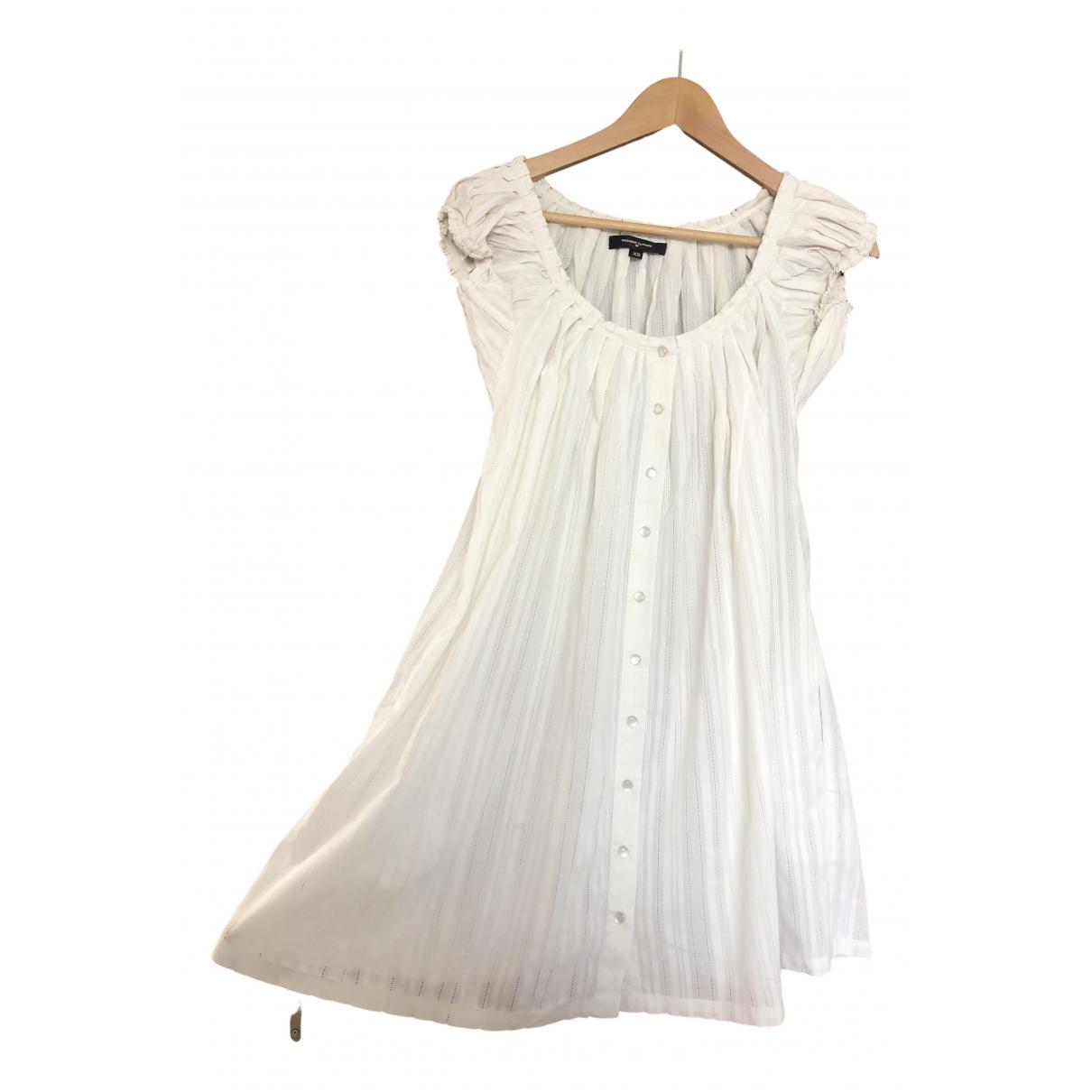 Second Female \N Kleid in  Ecru Baumwolle