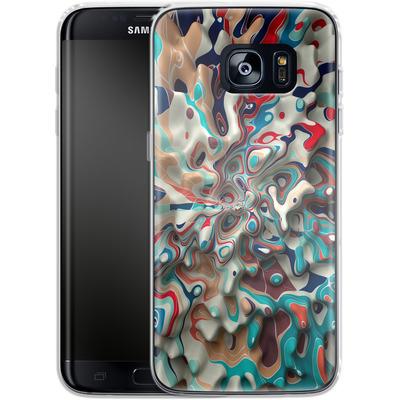 Samsung Galaxy S7 Edge Silikon Handyhuelle - Weird Surface von Danny Ivan