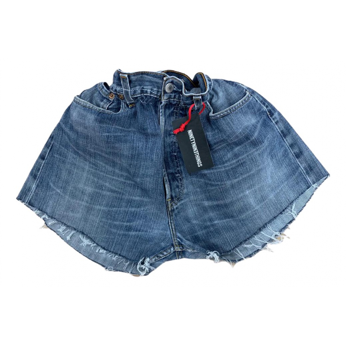 Levi's \N Blue Denim - Jeans Shorts for Women M International
