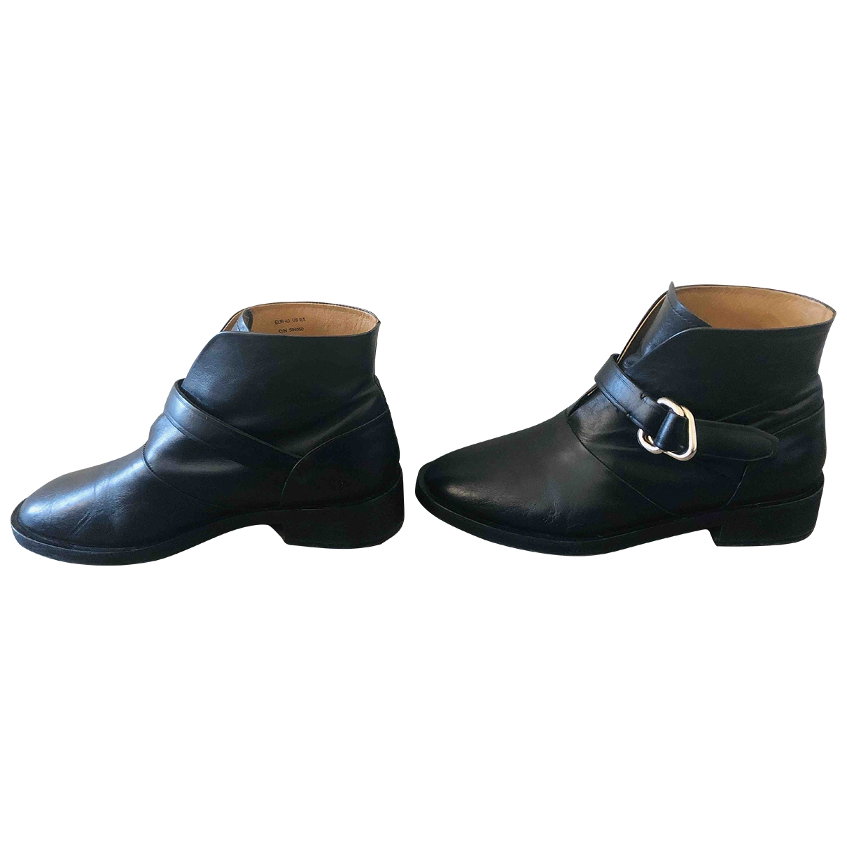 & Other Stories \N Stiefeletten in  Schwarz Leder