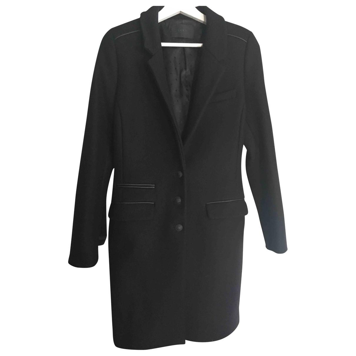 Ikks - Manteau   pour femme - noir
