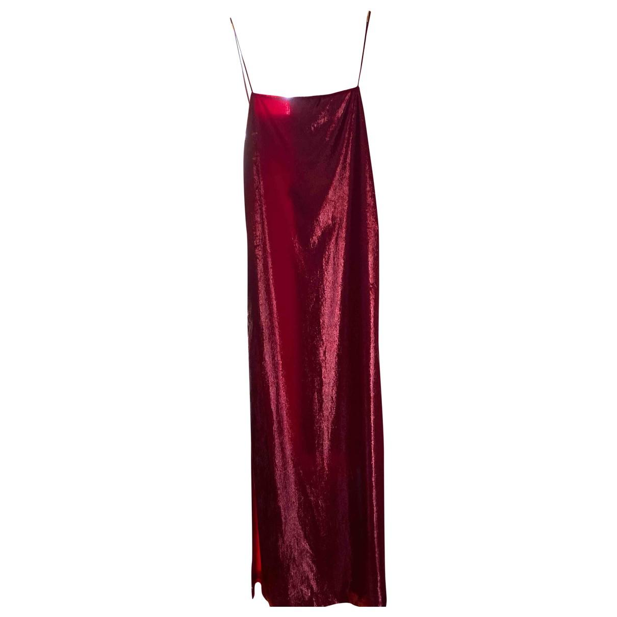 Philosophy Di Alberta Ferretti \N Kleid in  Rot Polyester