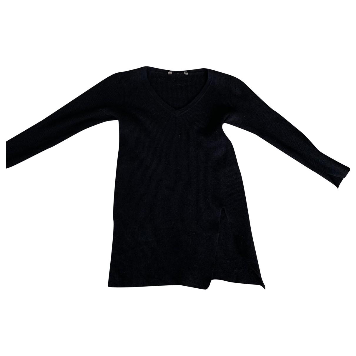 Bcbg Max Azria \N Black Wool Knitwear for Women 36 FR