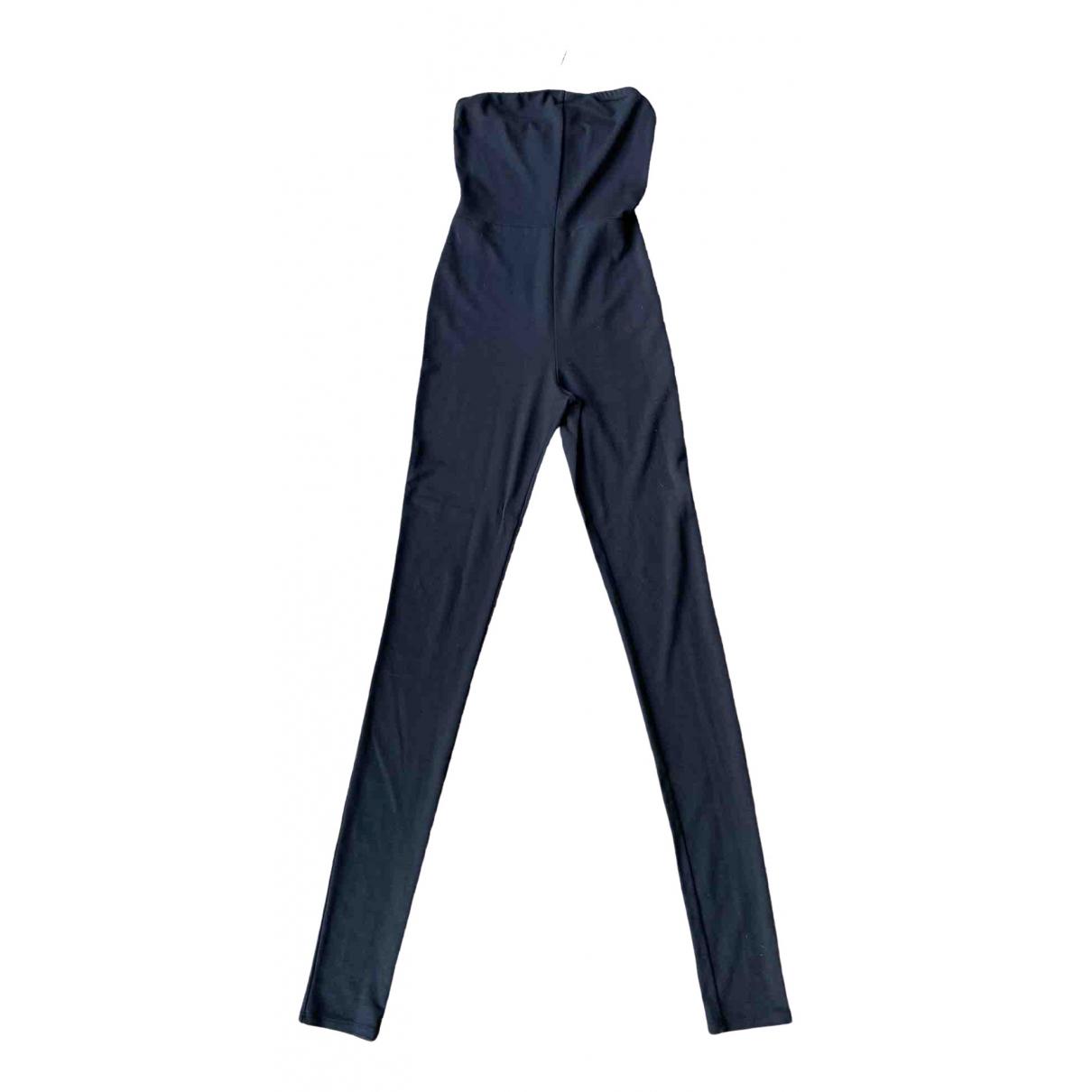 Maison Martin Margiela \N Black jumpsuit for Women 40 IT