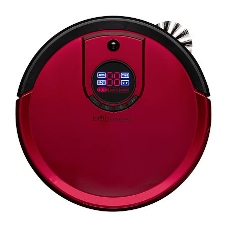 bObsweep Standard Robotic Vacuum Cleaner and Mop, One Size , Red
