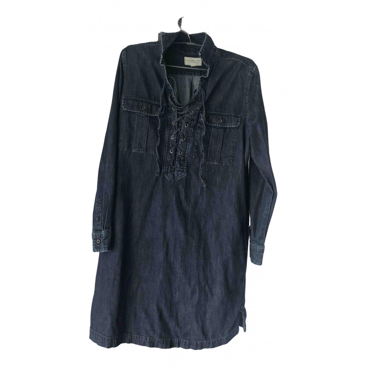 Ralph Lauren \N Kleid in  Blau Denim - Jeans
