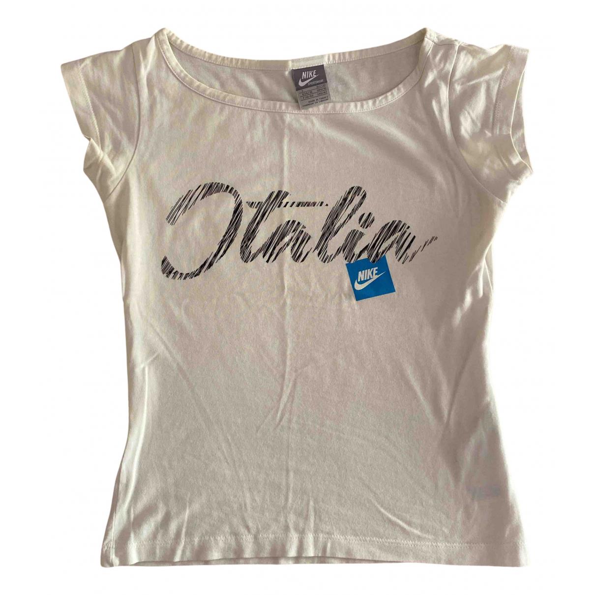 Nike N White Cotton  top for Women S International