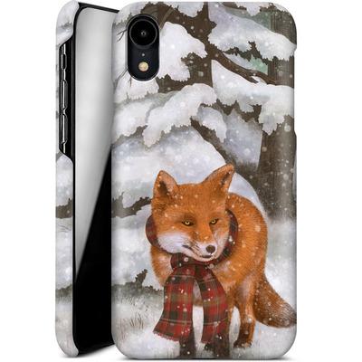 Apple iPhone XR Smartphone Huelle - Winter Fox von Terry Fan