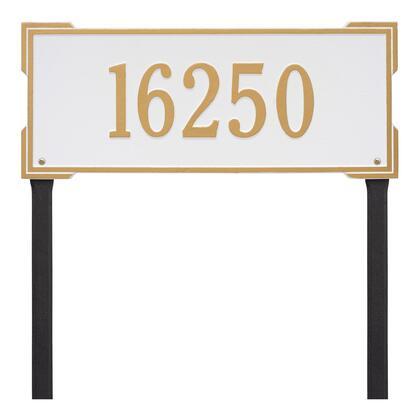 1121WG Personalized Roanoke Plaque - Estate -Lawn - 1 Line in