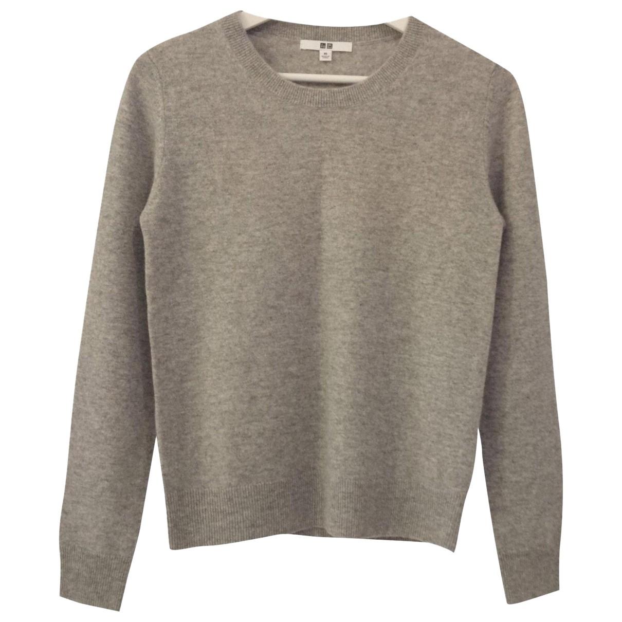 Uniqlo N Grey Cashmere Knitwear for Women XS International