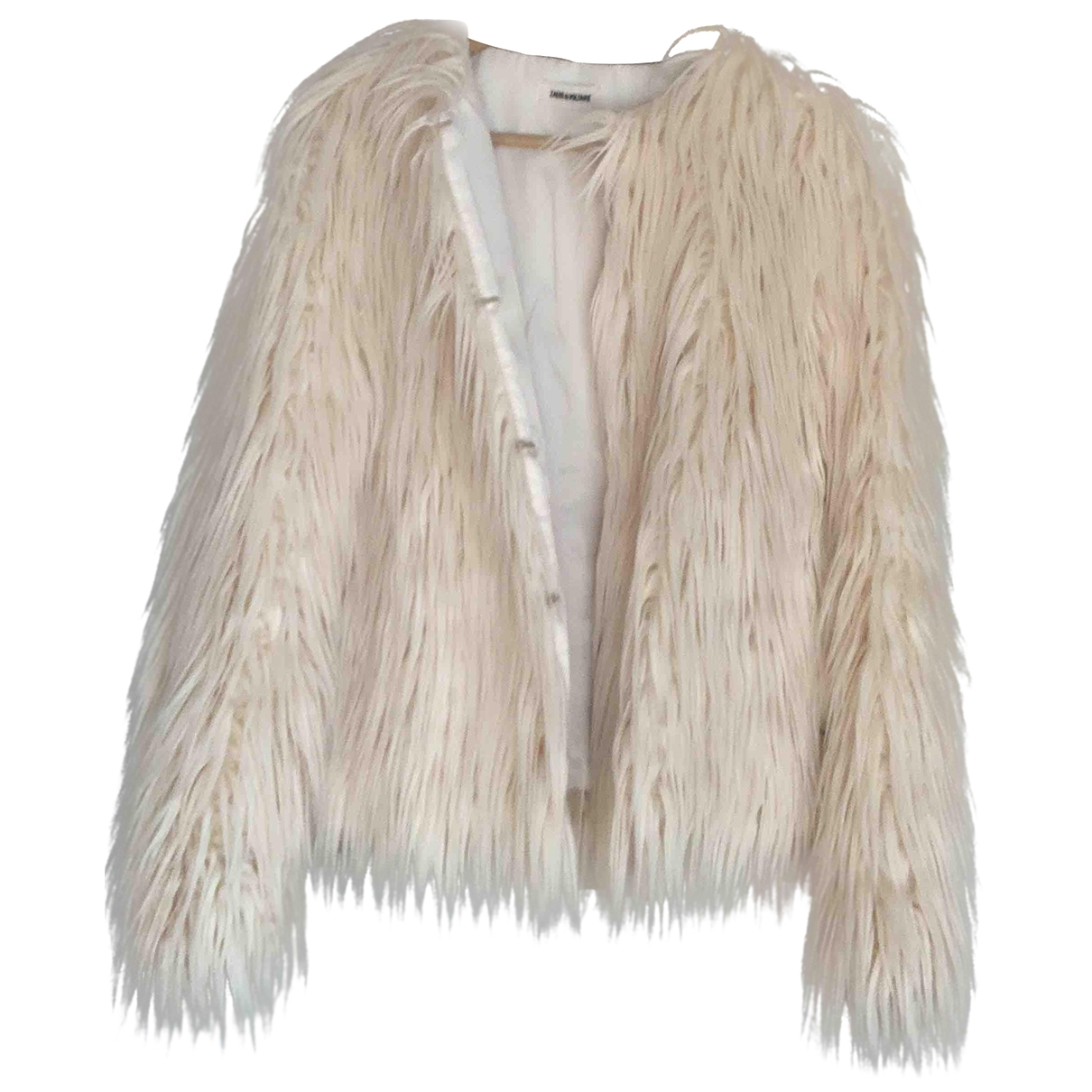 Zadig & Voltaire \N Beige Faux fur jacket for Women 36 FR