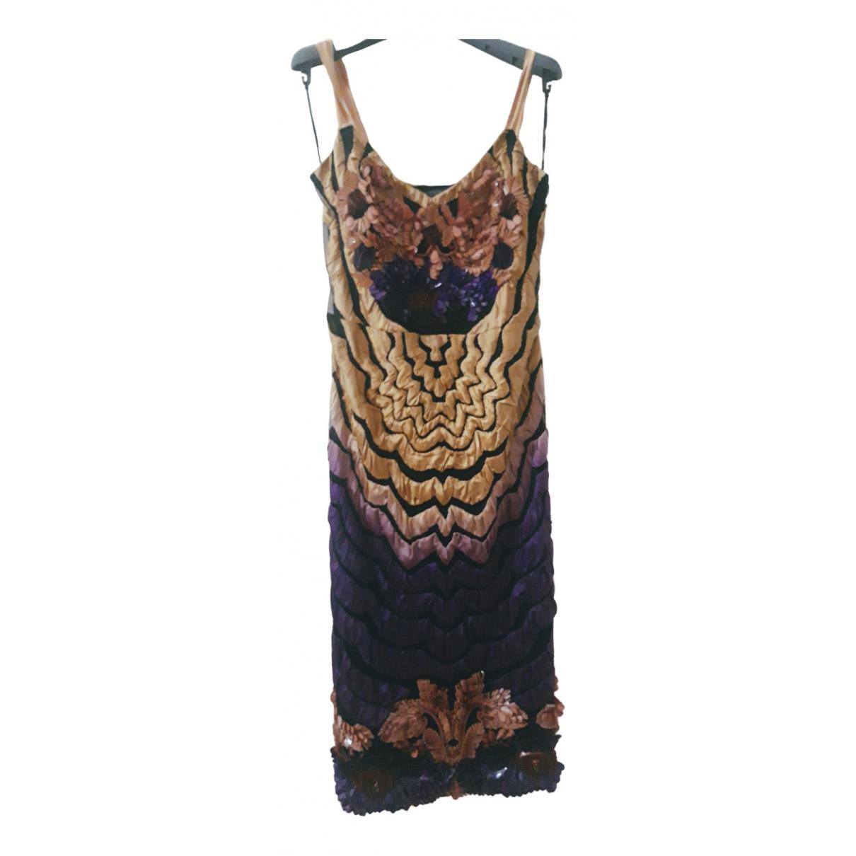 Alberta Ferretti \N Kleid in  Bunt Synthetik