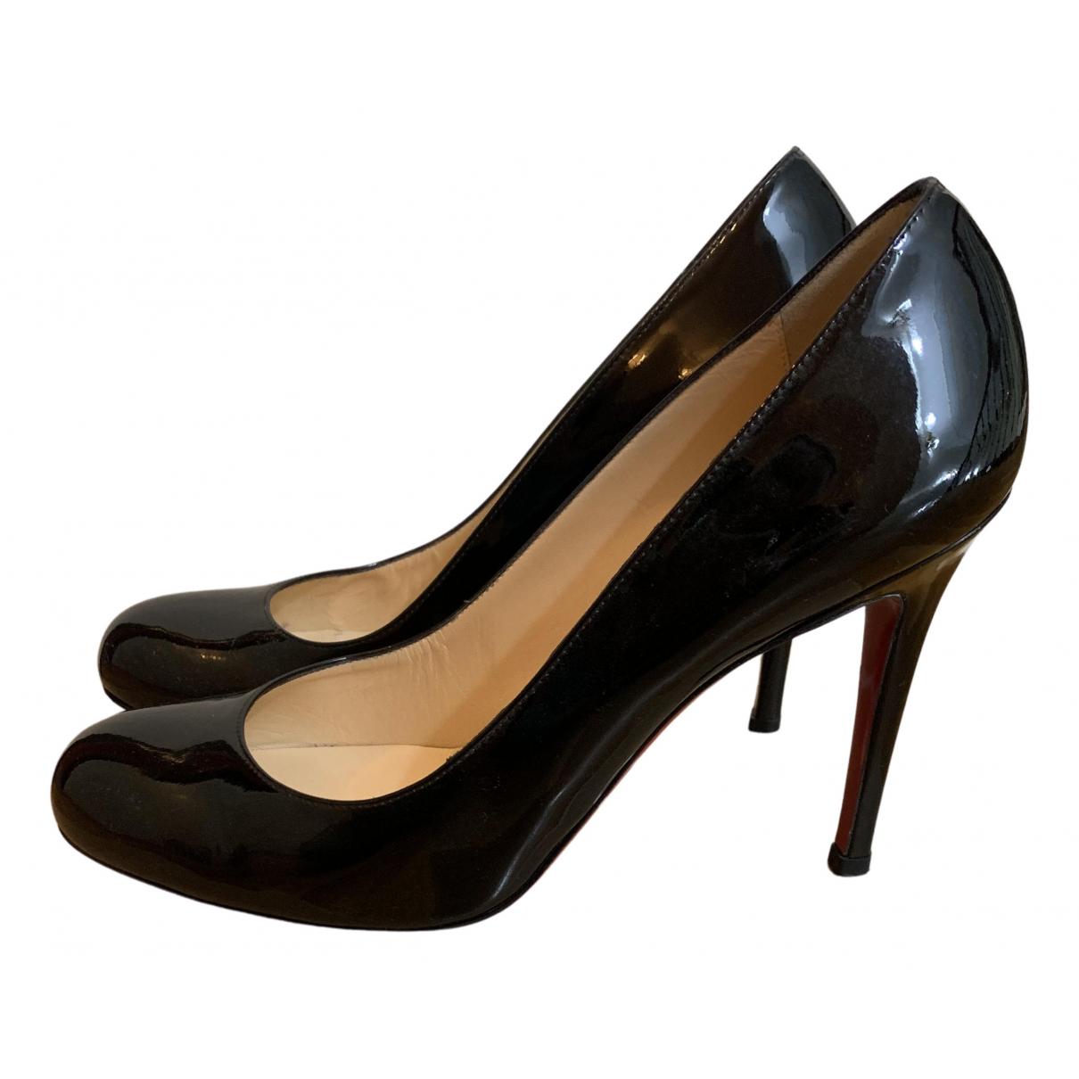 Christian Louboutin - Escarpins Bianca pour femme en cuir - noir