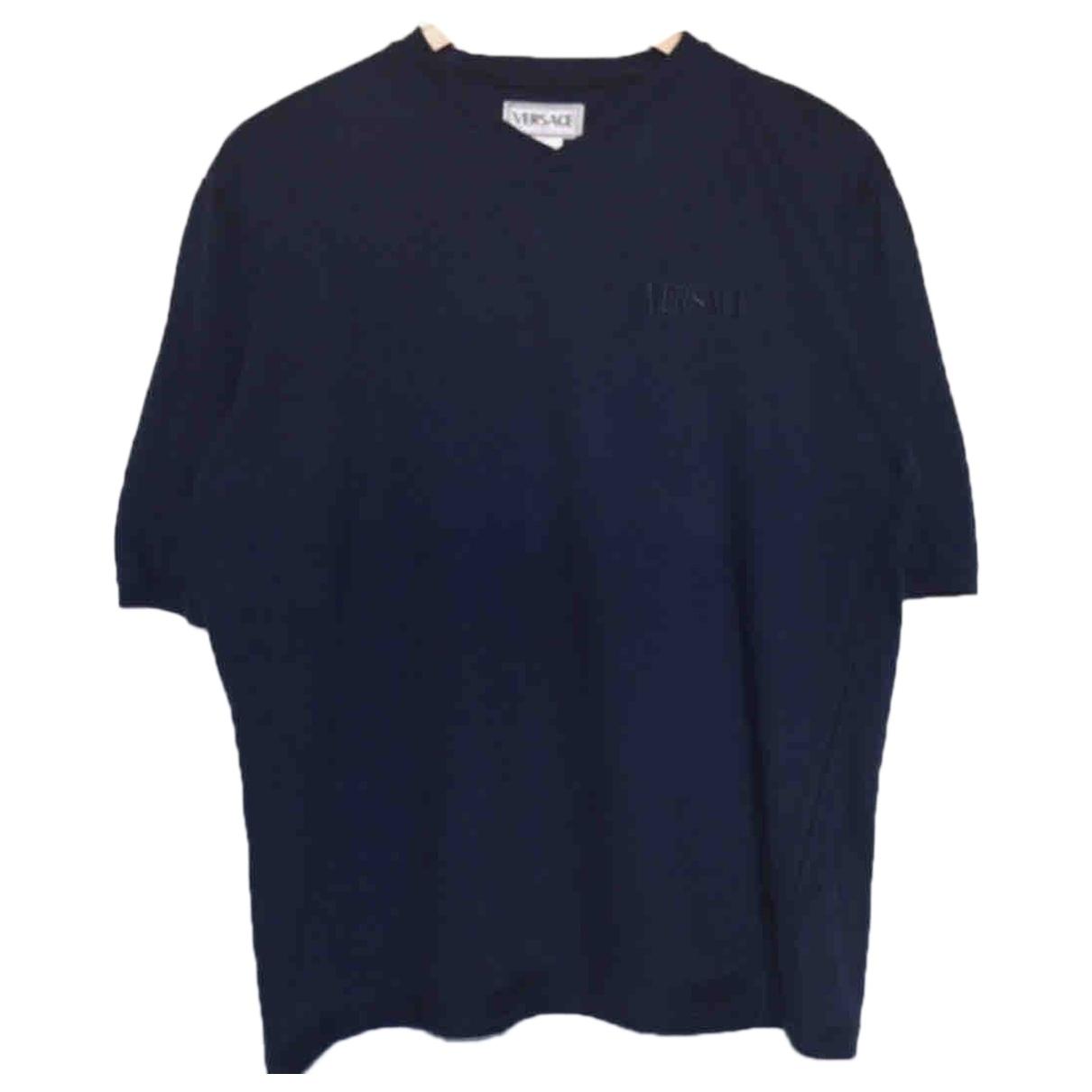 Versace \N Navy Cotton T-shirts for Men M International