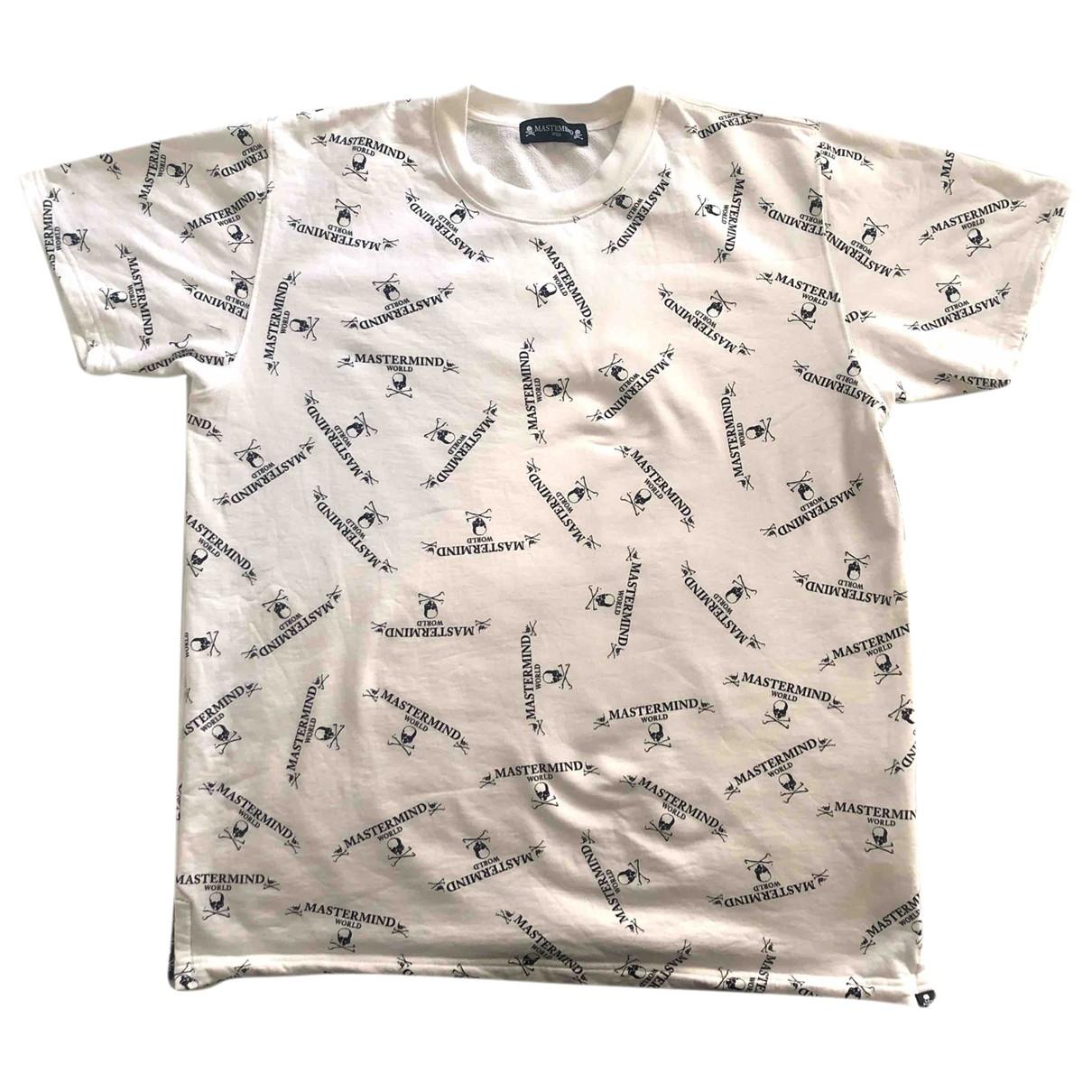 Mastermind World - Tee shirts   pour homme en coton - blanc