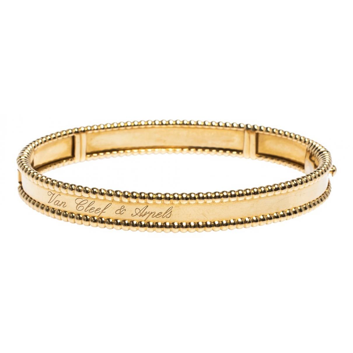 Van Cleef & Arpels Perlee  Armband in Gelbgold